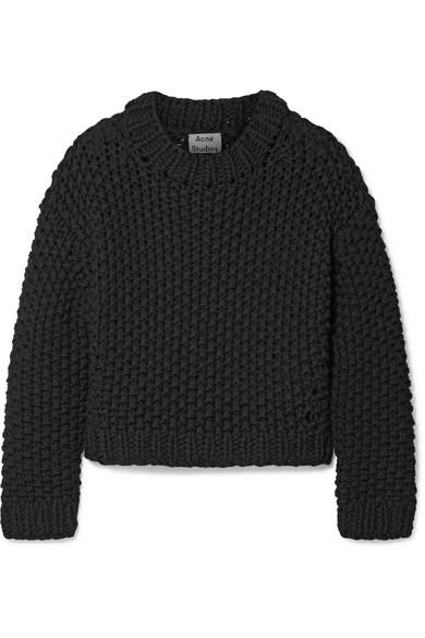 Acne Studios Ohnyx Oversized-Pullover aus einer Baumwollmischung
