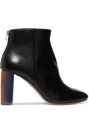 Cliffie leather ankle boots