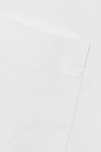 Acne Studios Lelia verkürztes Hemd aus Baumwollpopeline