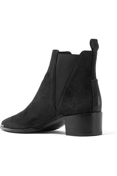 Acne Studios Jensen Ankle Boots aus Veloursleder