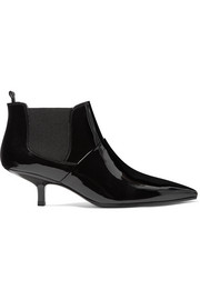 Kity patent-leather ankle boots