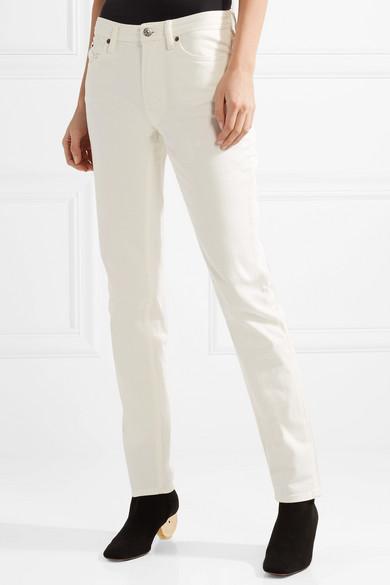 Acne Studios South halbhohe Jeans mit geradem Bein