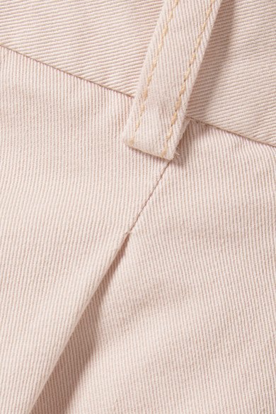 Acne Studios Tabea verkürzte Hose mit geradem Bein aus Baumwoll-Twill