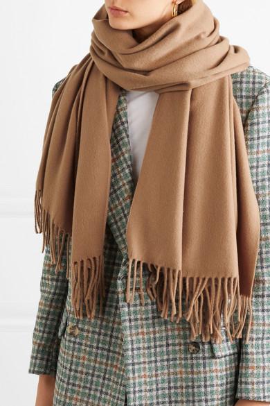 Acne Studios   Écharpe en laine à franges Canada   NET-A-PORTER.COM 5d3e633419c