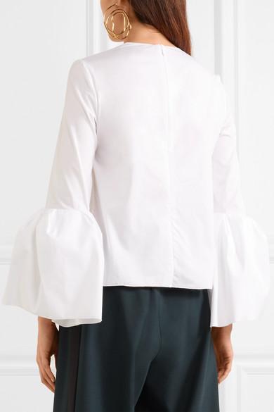 Roksanda Truffaut Oberteil aus Baumwollpopeline