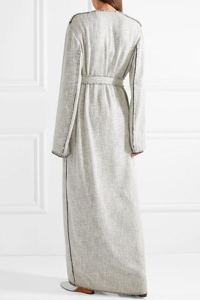 The Row Paycen Mantel Aus Tweed