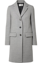 The Row Amutto wool-twill coat