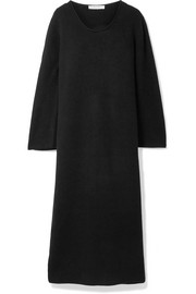 Tirrie ribbed cashmere midi dress