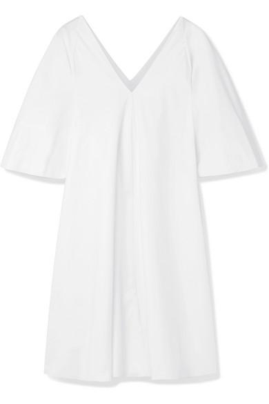 The Row Lianne Minikleid aus Baumwollpopeline