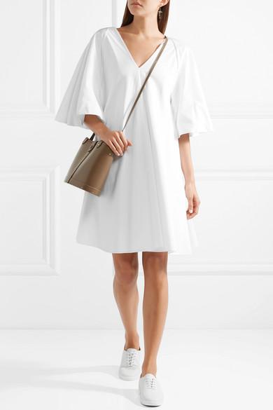 La Ligne Mini Robe En Popeline De Coton Lianne