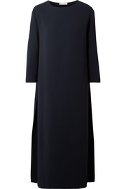 Nolia crepe midi dress