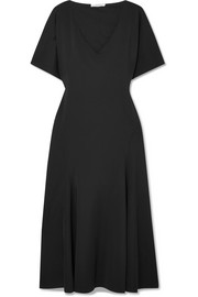 The Row Lucid stretch-jersey midi dress