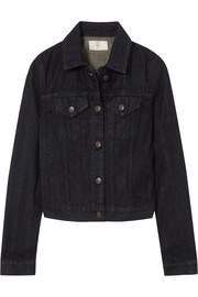 The Row Rearman cropped denim jacket