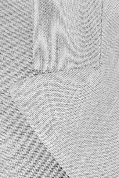 The Row Rupten Blazer aus einer melierten Seiden-Leinenmischung