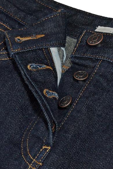 The Row Ashland verkürzte halbhohe Jeans mit geradem Bein