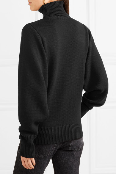 The Row Meredith Rollkragenpullover aus Wolle