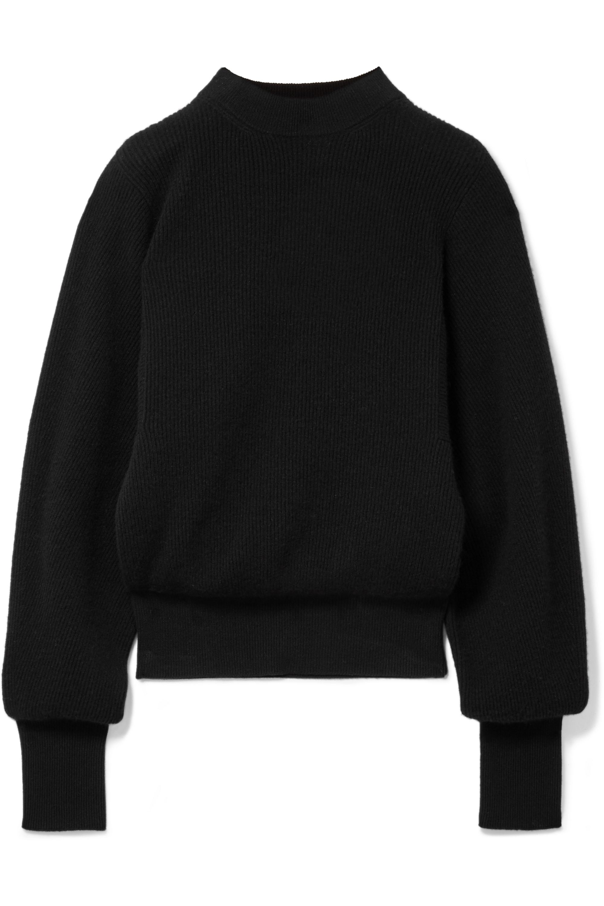 The Row Nix ribbed cashmere sweater