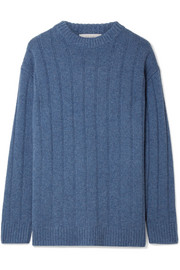 Lilla ribbed cashmere sweater