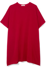 The Row Cafty cashmere and silk-blend poncho