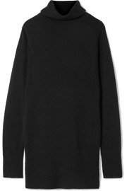 Diali cashmere turtleneck mini dress