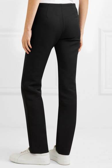 The Row Danu Trousers With Straight Leg From A Wool Blend