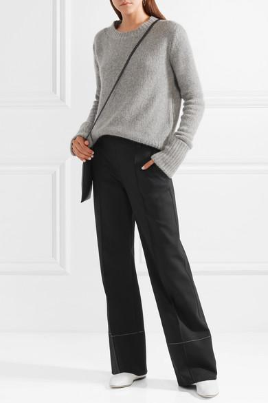 The Row Alisei Hose mit weitem Bein aus Stretch-Neopren
