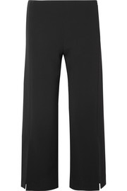 Paber cropped cady wide-leg pants