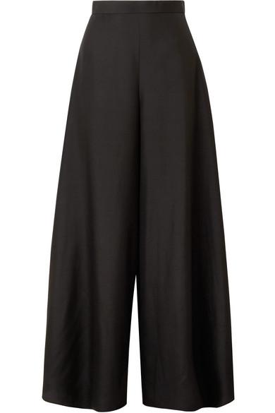 Elle Silk Organza Wide Leg Pants by The Row