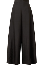 The Row Elle silk-organza wide-leg pants