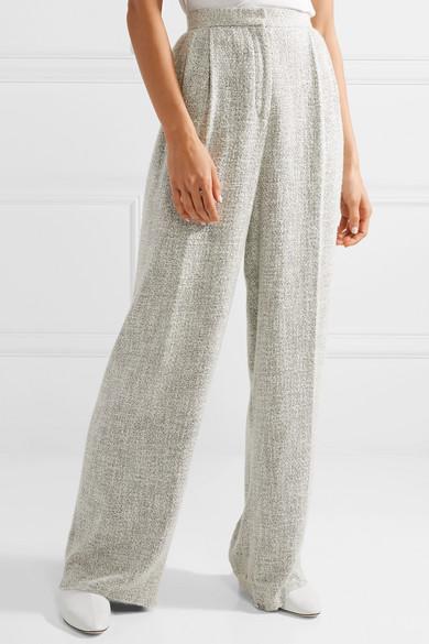 The Row Hester Tweed-Hose mit weitem Bein