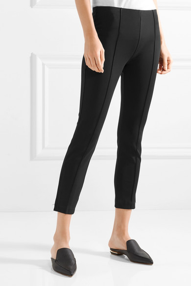 The Row Andir eng geschnittene Hose aus Stretch-Ponte