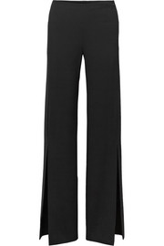 The Row Zaber wide-leg stretch-cady pants