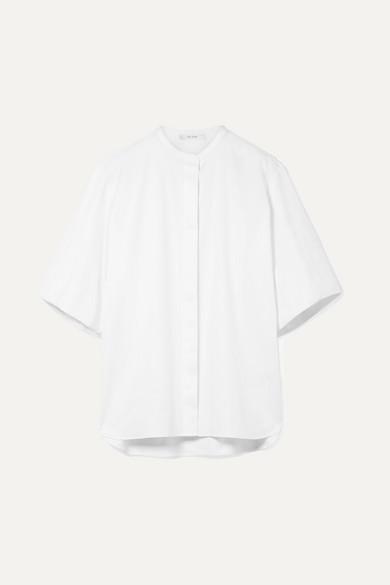 The Row Raul Hemd aus Baumwollpopeline mit Stretch-Anteil