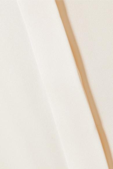 The Row Maura Bluse aus Seidensatin Footlocker Finish Günstig Online nwhphvt