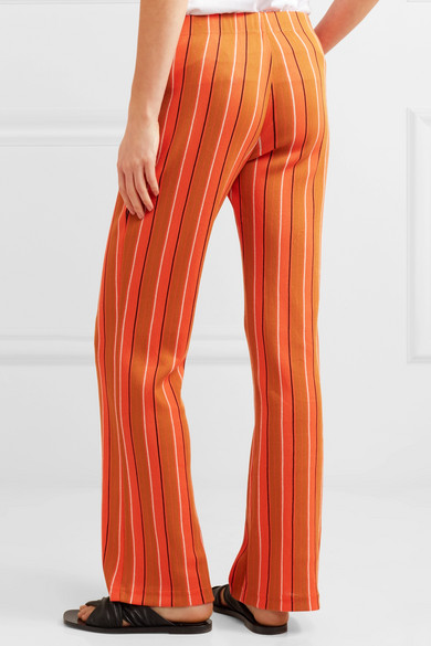 Simon Miller Cyrene Striped Pant From A Cotton Blend