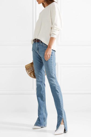 SIMON MILLER W009 Lowry halbhohe Skinny Jeans