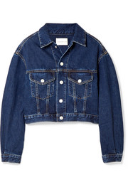 Toluca cropped denim jacket