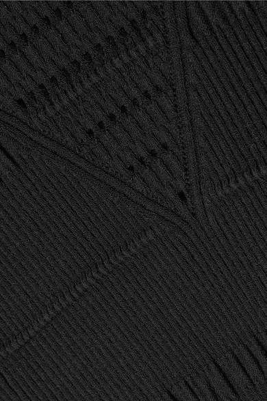 Billig Verkauf Neueste Die Besten Preise Günstig Online KENZO Ausgestelltes Minikleid aus strukturiertem Strick Billig Verkauf Geniue Händler Schnelle Lieferung Verkauf Online Rabatt-Angebote aPBmNBK0D