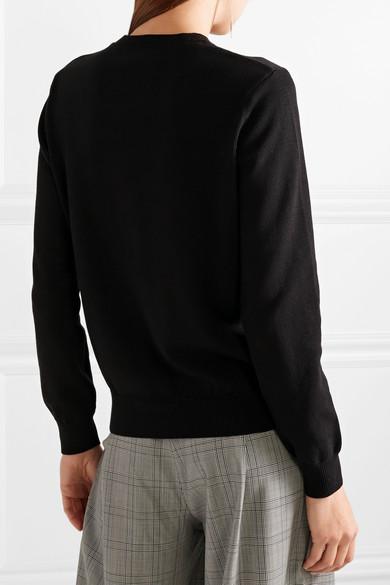 KENZO Bestickter Pullover aus Baumwolle