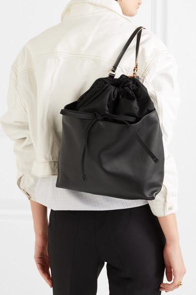 Marni Rucksack aus Leder und Shell