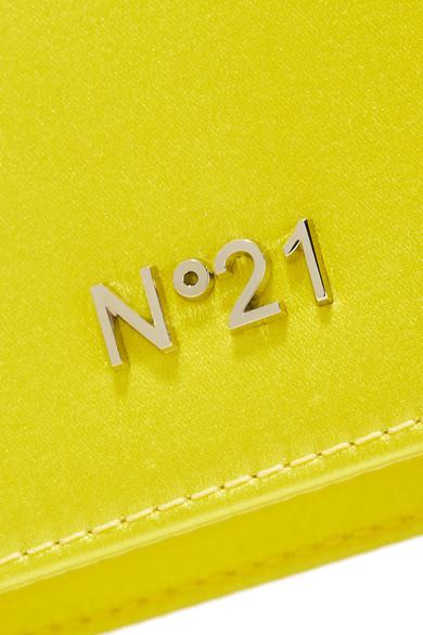 No. 21 Knot Clutch aus Satin