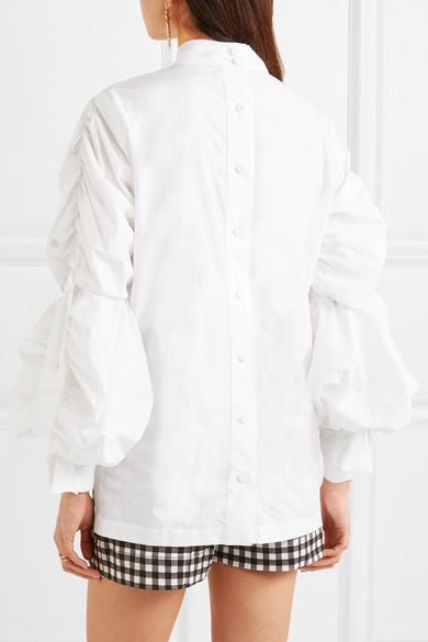 Verkauf Online-Shopping Silvia Tcherassi Pragelatto Oberteil aus Baumwollpopeline Günstig Kaufen Zum Verkauf Sast Online Räumungsverkauf Online Spielraum Billigsten 4ozCG5C68