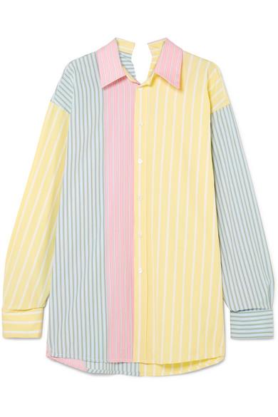 23bb9f169a Marni. Oversized striped cotton shirt