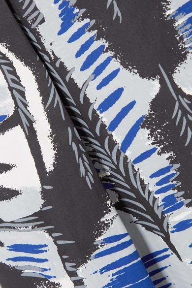 Steckdose Zuverlässig Marni Midirock aus bedruckter Baumwollpopeline mit Falten Steckdose Am Besten Austrittskosten Rabatt Billigsten Rabatt Fälschung cEQPlapmUU