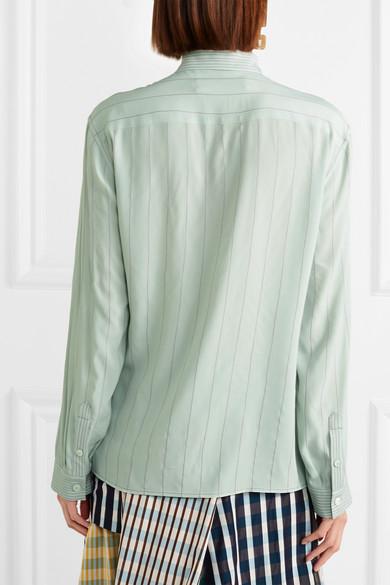 Marni Besticktes Hemd aus Crêpe de Chine