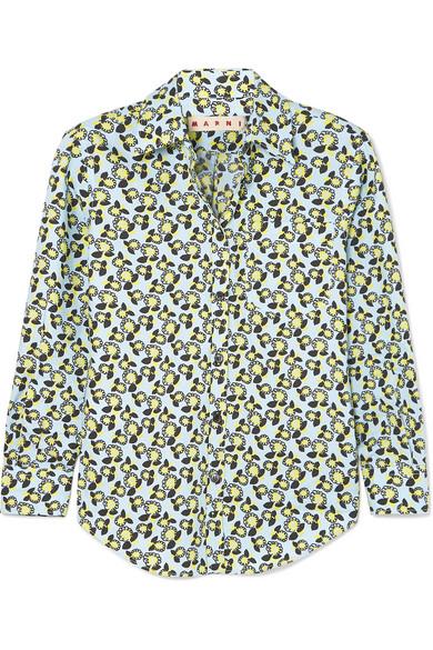 Marni Bedrucktes Baumwollhemd