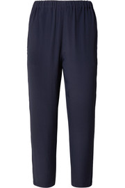 Marni Washed-crepe tapered pants