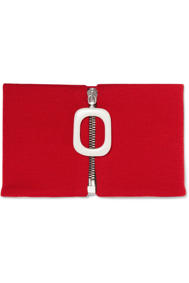 JW ANDERSON JWA NECKBAND IN RED