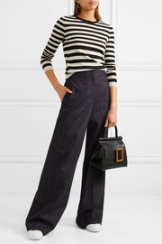 Bella Freud Skinny Minnie striped wool and cashmere-blend sweater