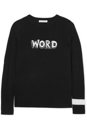 Word wool sweater